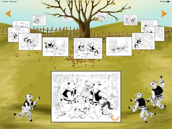 Coloreaza Capra cu Trei Iezi screenshot 9