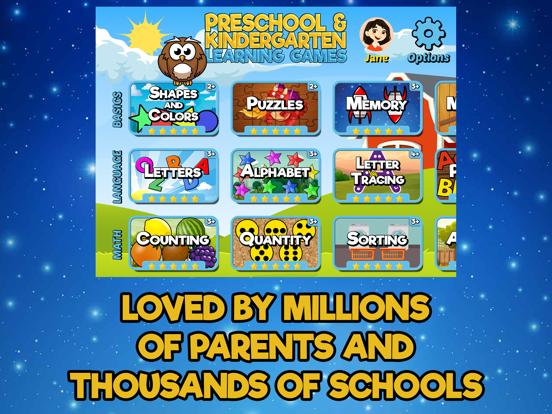 Preschool and Kindergarten Learning Games screenshot