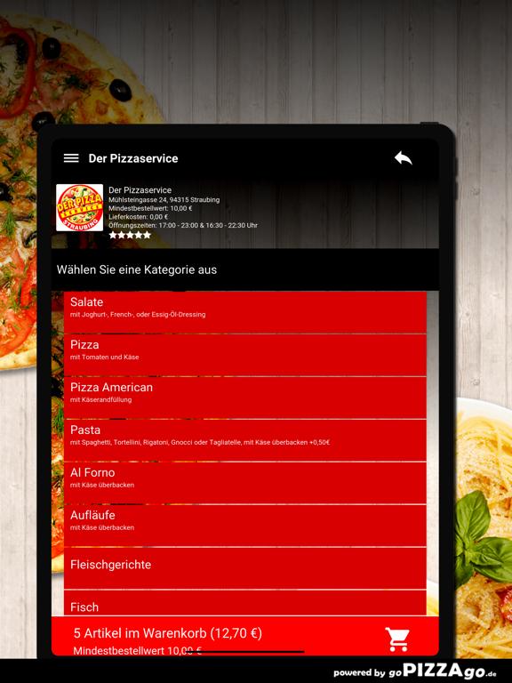 Der Pizzaservice Straubing screenshot 8
