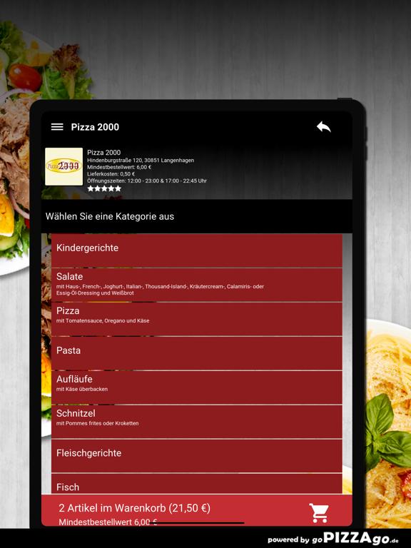 Pizza 2000 Langenhagen screenshot 8