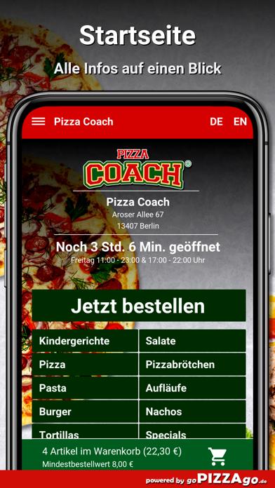 Pizza Coach Berlin screenshot 4