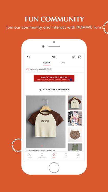 ROMWE -Online Fashion Store screenshot-3