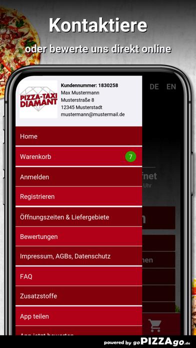Pizza-Taxi Diamant Dortmund screenshot 3