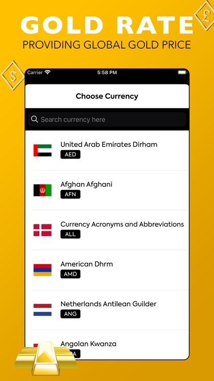 Global Gold Price screenshot-3