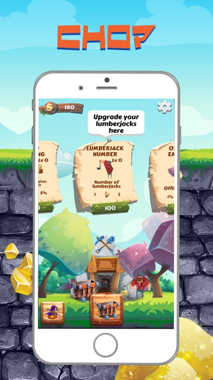 Lumber Jack: Mine & Chop Shop screenshot-1