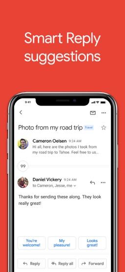 Gmail app screenshot