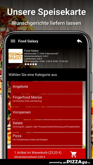 Food-Galaxy Mainaschaff screenshot 4