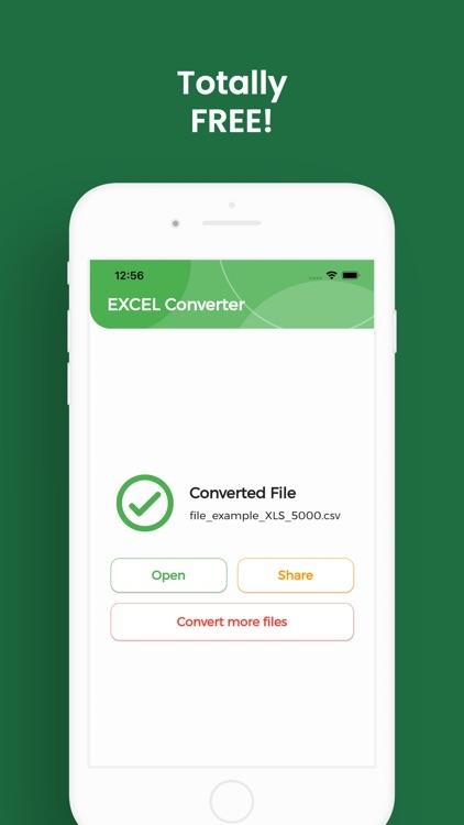 EXCEL Converter, XLSX to CSV screenshot-4