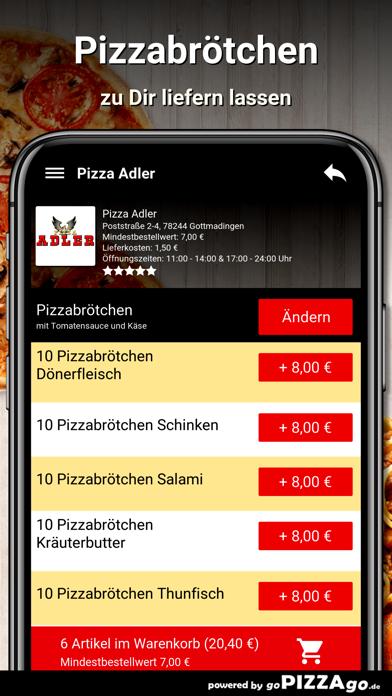 Pizza-Adler Gottmadingen screenshot 5