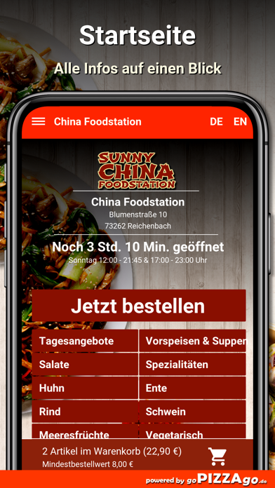 China Foodstation Reichenbach screenshot 2