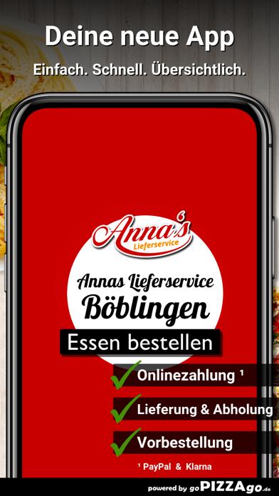 Annas Lieferservice Böblingen screenshot 1