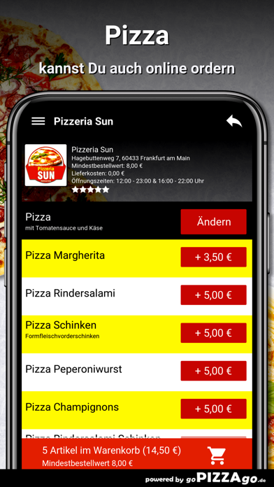 Pizzeria Sun Frankfurt am Main screenshot 5