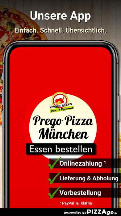 Prego Pizza München screenshot 1
