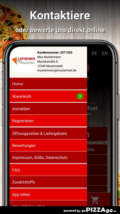 Leipheimer Pizzaservice Leiphe screenshot 3