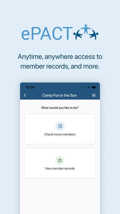 ePACT Admin