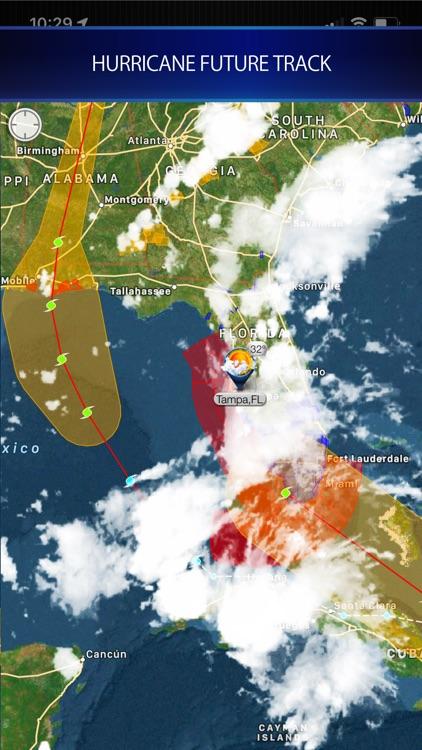 Cyclone - hurricane tracker screenshot-3