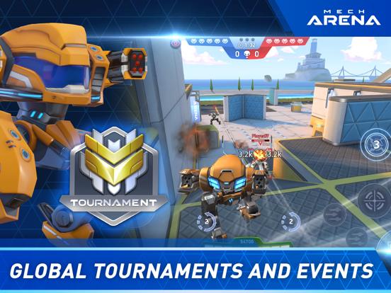Mech Arena: Robot Showdown iPad app afbeelding 6