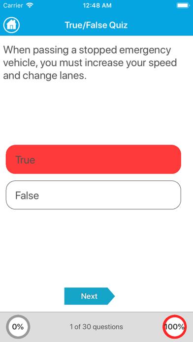 Driving Licence Quiz screenshot 5