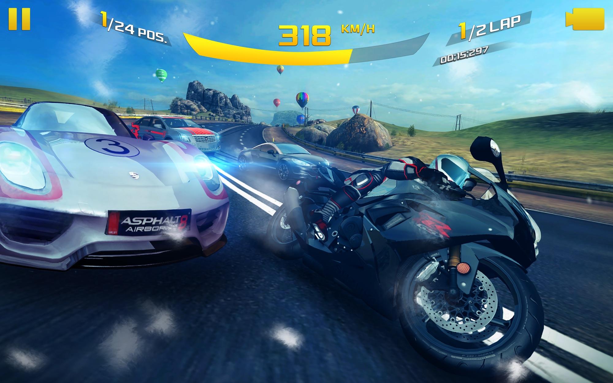 Game đua xe macos