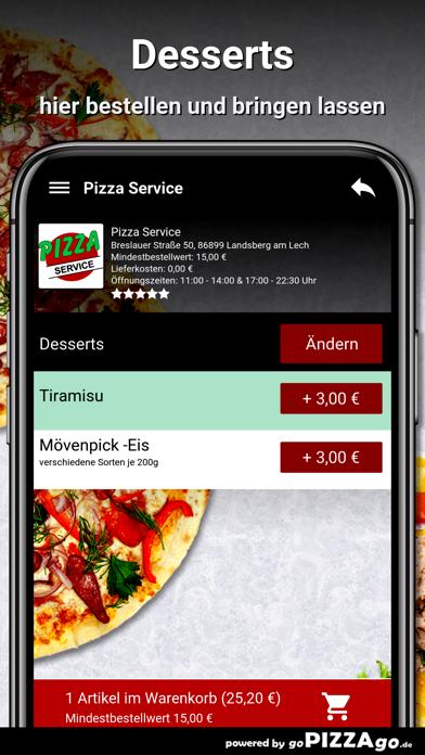 Pizza Service Landsberg screenshot 6