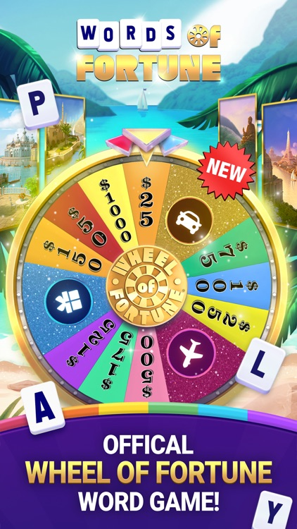Wheel of Fortune Crossword Fun screenshot-0