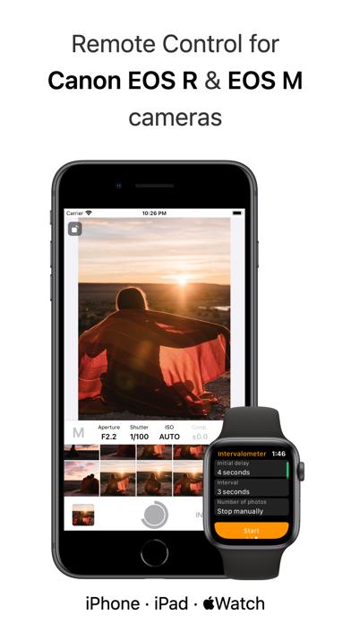 Shutter - Canon EOS Remote screenshot 1