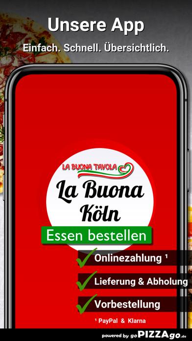 La Buona Köln Rodenkirchen screenshot 1