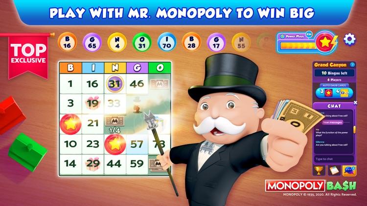 Bingo Bash featuring MONOPOLY screenshot-0