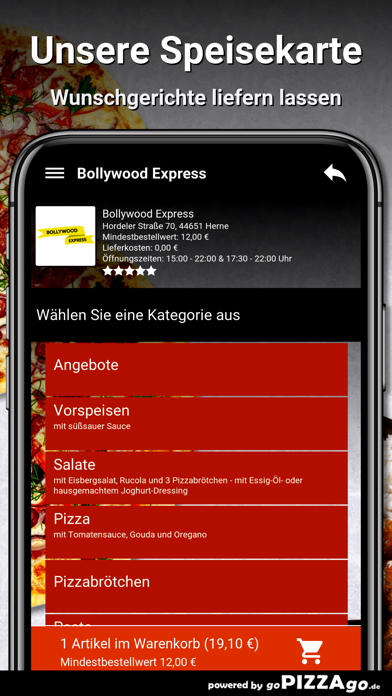 Bollywood Express Herne screenshot 4