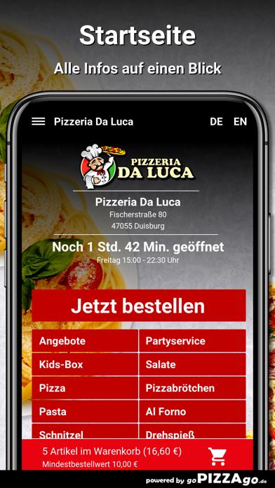 Pizzeria Da Luca Duisburg screenshot 2