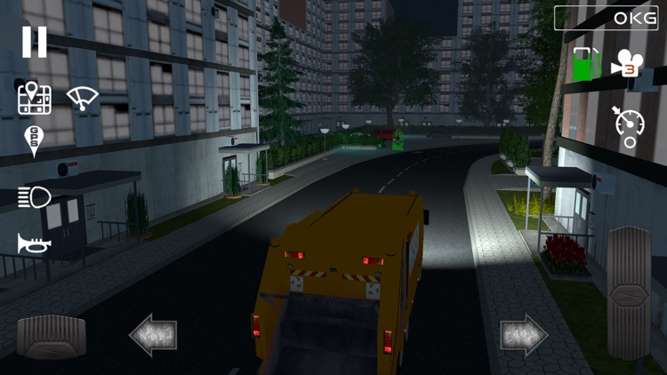 Trash Truck Simulator screenshot-7