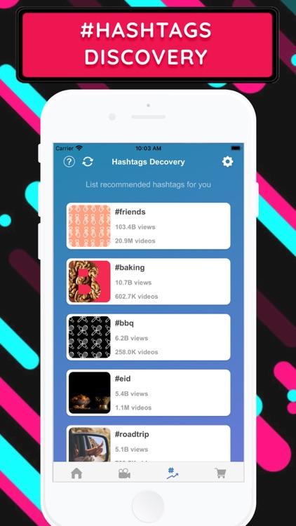 TIK+ : Likes Followers Tracker screenshot-3