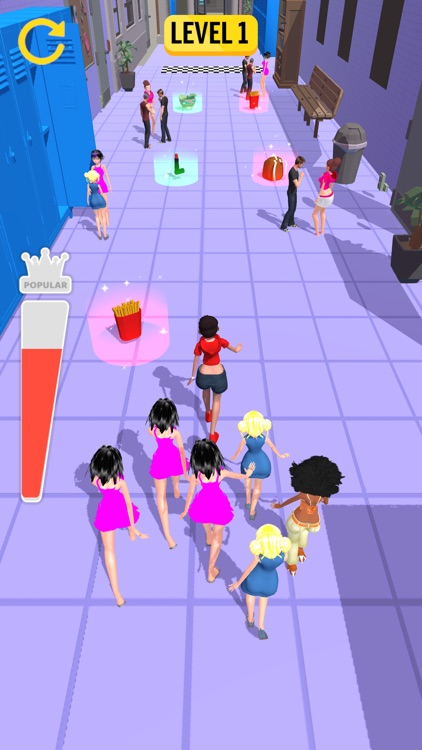 Queen Challenge 3D -Fit Runner
