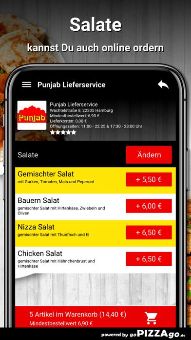 Punjab Lieferservice Hamburg screenshot 5