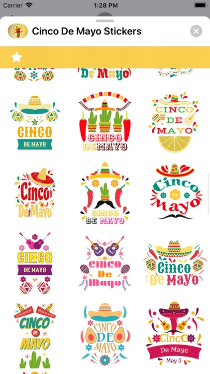 Cinco de Mayo Stickers screenshot-5