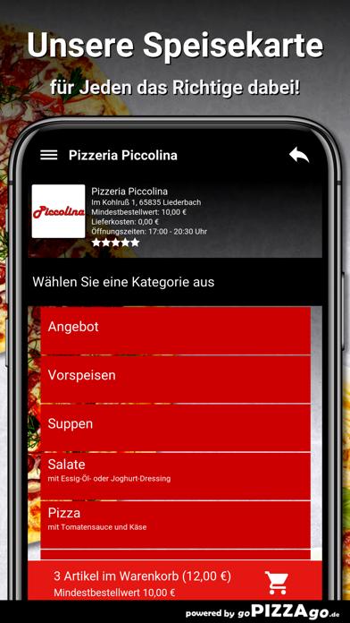 Pizzeria Piccolina Liederbach screenshot 4