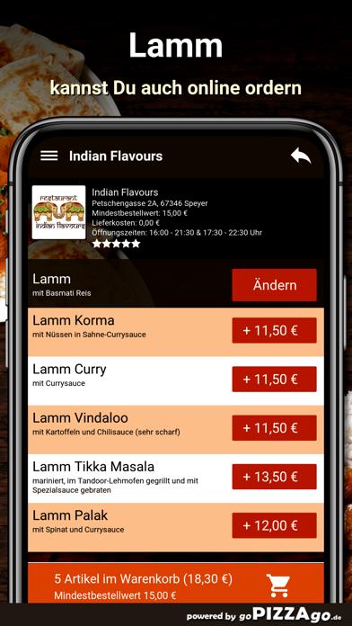 Indian Flavours Speyer screenshot 5