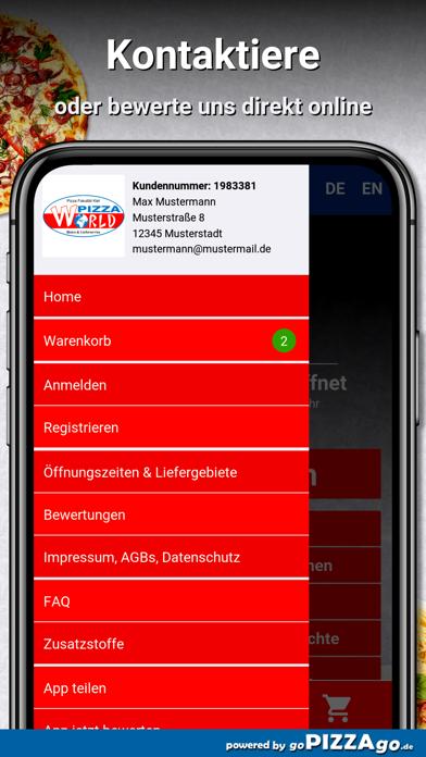 Pizza World Kiel screenshot 3