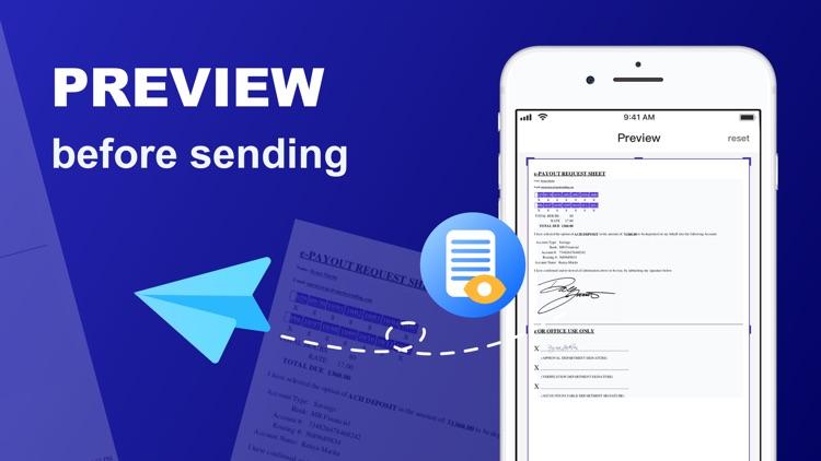 Fax: Fax from iPhone screenshot-3