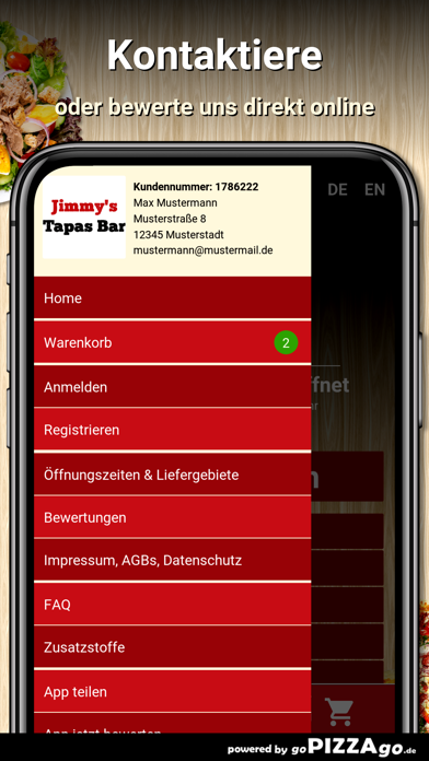 Tapas Bar Neustadt in Holstein screenshot 3