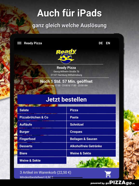 Ready Pizza Hamburg screenshot 7