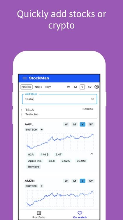 StockMan - Stocks & Crypto