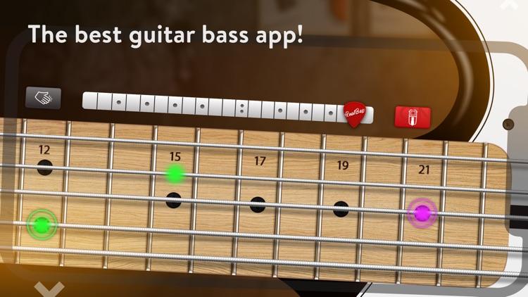 REAL BASS Electric bass guitar screenshot-0