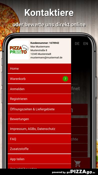 Pizza Presto Dietzenbach screenshot 3
