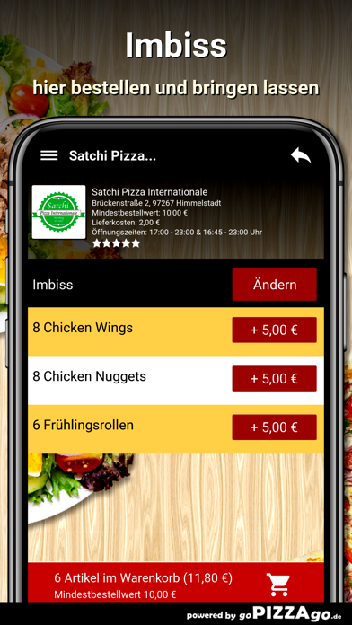 Satchi Pizza Himmelstadt screenshot 6