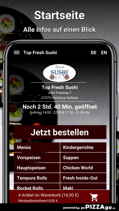Top Fresh-Sushi Hamburg screenshot 2