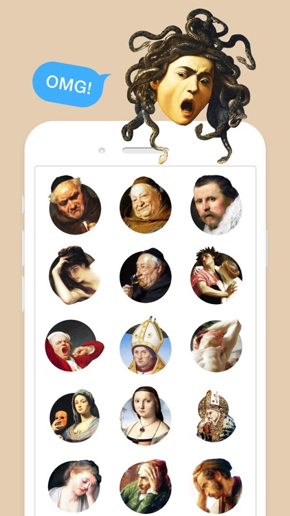 Classic Art Stickers screenshot-3
