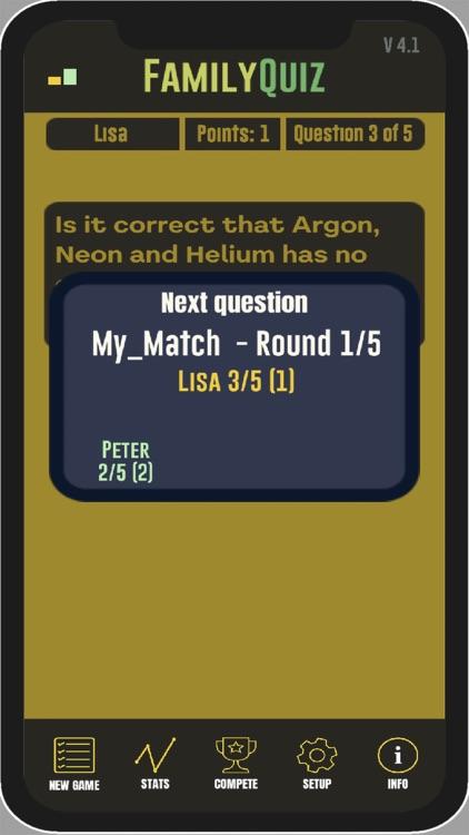 FamilyQuiz - Quiz screenshot-7