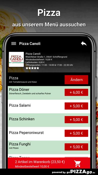 Pizza Canoli Schöffengrund screenshot 5