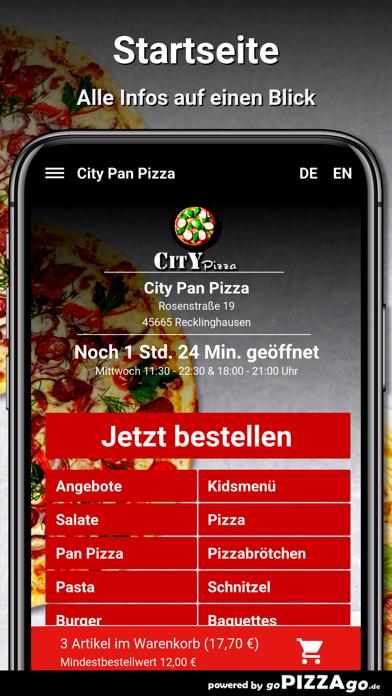 City Pan Pizza Recklinghausen screenshot 2